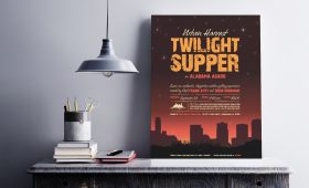 Urban Harvest Twilight Supper Poster